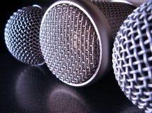 μικρόφωνα Στοκ φωτογραφία με δικαίωμα ελεύθερης χρήσης