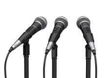 μικρόφωνα διανυσματική απεικόνιση