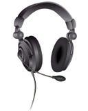 μικρόφωνο ακουστικών Στοκ φωτογραφία με δικαίωμα ελεύθερης χρήσης