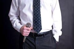 μικρόφωνο ατόμων Στοκ Φωτογραφία