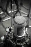 μικρόφωνο παλαιό Στοκ Φωτογραφία