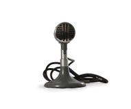 μικρόφωνο παλαιό Στοκ Εικόνες