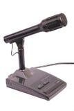 μικρόφωνο υπολογιστών γ&rho Στοκ Φωτογραφία