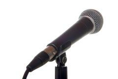 μικρόφωνο φωνητικό Στοκ Εικόνες