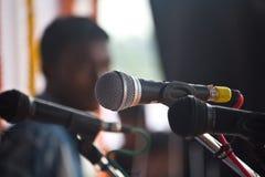 μικρόφωνο φωνητικό Στοκ εικόνα με δικαίωμα ελεύθερης χρήσης