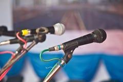 μικρόφωνο φωνητικό Στοκ φωτογραφίες με δικαίωμα ελεύθερης χρήσης