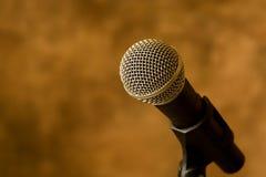 μικρόφωνο Στοκ φωτογραφίες με δικαίωμα ελεύθερης χρήσης