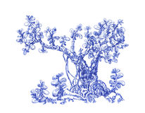 Μικρό δέντρο χρημάτων Στοκ Εικόνα