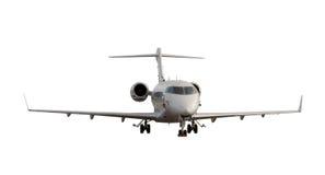 Μικρό αεροπλάνο με τα προσγειωμένος εργαλεία Στοκ Φωτογραφία