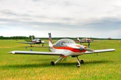 Μικρό αθλητικό αεροπλάνο Στοκ Φωτογραφία
