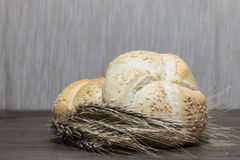 Μικρό αυτί ψωμιού και σίτου στοκ εικόνες