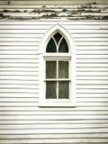 Μικρό γοτθικό παράθυρο αναγέννησης Στοκ φωτογραφία με δικαίωμα ελεύθερης χρήσης