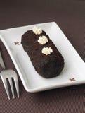 Μικρό γλυκό κέικ σοκολάτας στοκ εικόνες με δικαίωμα ελεύθερης χρήσης