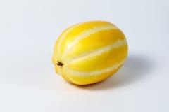 Μικρό γλυκό κίτρινο πεπόνι Στοκ φωτογραφίες με δικαίωμα ελεύθερης χρήσης