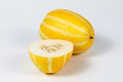 Μικρό γλυκό κίτρινο πεπόνι Στοκ εικόνα με δικαίωμα ελεύθερης χρήσης