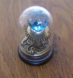 Μικρό γλυπτό τέχνης πλανηταρίων steampunk για το σπίτι κουκλών Στοκ εικόνες με δικαίωμα ελεύθερης χρήσης