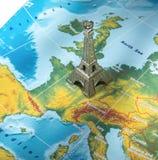 Μικρό εικονίδιο πύργων του Παρισιού - του Άιφελ Στοκ φωτογραφία με δικαίωμα ελεύθερης χρήσης
