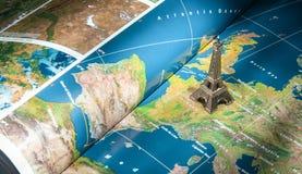 Μικρό εικονίδιο πύργων του Παρισιού - του Άιφελ Στοκ εικόνα με δικαίωμα ελεύθερης χρήσης