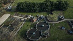 Μικρό εργοστάσιο επεξεργασίας λυμάτων στη βόρεια Ουαλία φιλμ μικρού μήκους