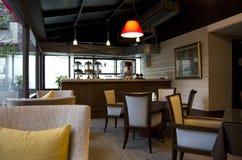 Μικρό εστιατόριο καφέδων Στοκ Φωτογραφία
