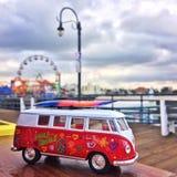 Μικρό λεωφορείο παιχνιδιών Στοκ Φωτογραφίες