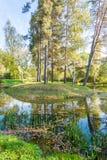 Μικρό ημερησίως φθινοπώρου νησιών Στοκ εικόνα με δικαίωμα ελεύθερης χρήσης