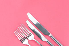 Μικρό και μεγάλο εργαλείο δικράνων και μαχαιριών Στοκ φωτογραφία με δικαίωμα ελεύθερης χρήσης