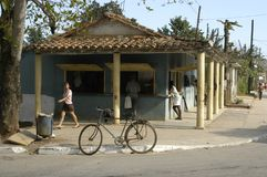 Μικρό και συμπαθητικό χωριό στοκ φωτογραφίες με δικαίωμα ελεύθερης χρήσης