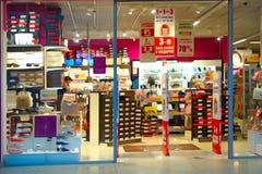 Μικρό κατάστημα παπουτσιών Στοκ Φωτογραφία