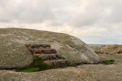 Μικρό κλιμακοστάσιο πετρών σε ένα βουνό στοκ φωτογραφία με δικαίωμα ελεύθερης χρήσης