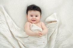 Πορτρέτο ενός μωρού στοκ φωτογραφίες με δικαίωμα ελεύθερης χρήσης
