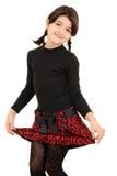 Μικρό κορίτσι που είναι χαριτωμένο Στοκ Εικόνες