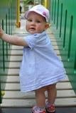 Μικρό κορίτσι στο πάρκο Στοκ Φωτογραφίες
