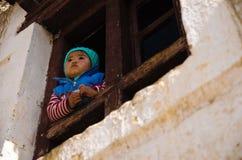 Μικρό κορίτσι της βόρειας Ινδίας στοκ φωτογραφία με δικαίωμα ελεύθερης χρήσης