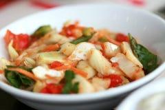μικρό λαχανικό σαλάτας πιάτ Στοκ φωτογραφίες με δικαίωμα ελεύθερης χρήσης
