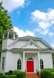 μικρό λευκό εκκλησιών Στοκ Φωτογραφίες