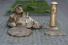 Μικρό μνημείο στα επαγγέλματα Στοκ Εικόνες