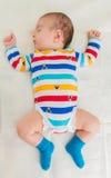 Μικρό μωρό στην έννοια παιδικής ηλικίας Στοκ Φωτογραφίες