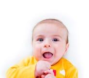 Μικρό μωρό στην έννοια παιδικής ηλικίας Στοκ Εικόνες