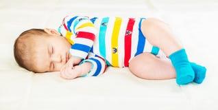 Μικρό μωρό στην έννοια παιδικής ηλικίας Στοκ εικόνες με δικαίωμα ελεύθερης χρήσης