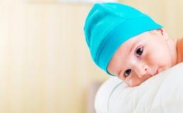 Μικρό μωρό στην έννοια παιδικής ηλικίας Στοκ φωτογραφία με δικαίωμα ελεύθερης χρήσης