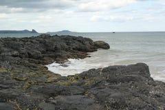 Μικρό νησί στη θάλασσα στοκ φωτογραφίες με δικαίωμα ελεύθερης χρήσης
