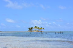 Μικρό νησί στο αρχιπέλαγος SAN Blas, Panamà ¡ Στοκ Εικόνες