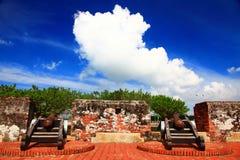 Μικρό οχυρό Anping, πόλη του Ταϊνάν, Ταϊβάν Στοκ εικόνα με δικαίωμα ελεύθερης χρήσης