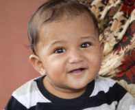 μικρό παιδί αγορακιών Στοκ φωτογραφίες με δικαίωμα ελεύθερης χρήσης