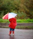 μικρό παιδί κοριτσιών ημέρα&sigmaf Στοκ εικόνα με δικαίωμα ελεύθερης χρήσης