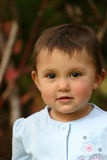 μικρό παιδί κοριτσιών ματιών & Στοκ Φωτογραφία