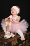 μικρό παιδί μπαλέτου στοκ φωτογραφία με δικαίωμα ελεύθερης χρήσης