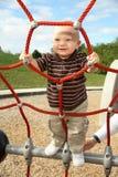 μικρό παιδί πάρκων στοκ εικόνες