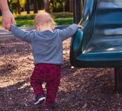 μικρό παιδί παιδικών χαρών στοκ φωτογραφία με δικαίωμα ελεύθερης χρήσης